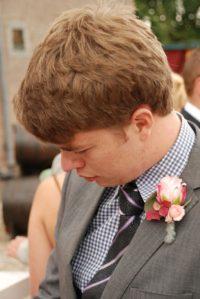 Kleurrijke bruiloft roze