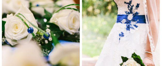 Trouwboeket enkele bloem witte roos