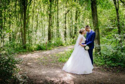 bruidsboeket kobaltblauw accent IJsselstein