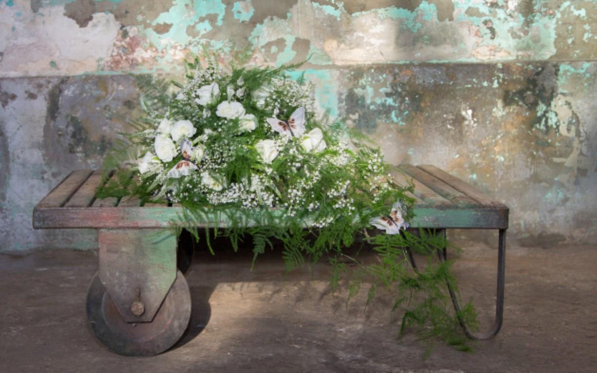 bruidsboeket wit veldbloemen IJsselstein