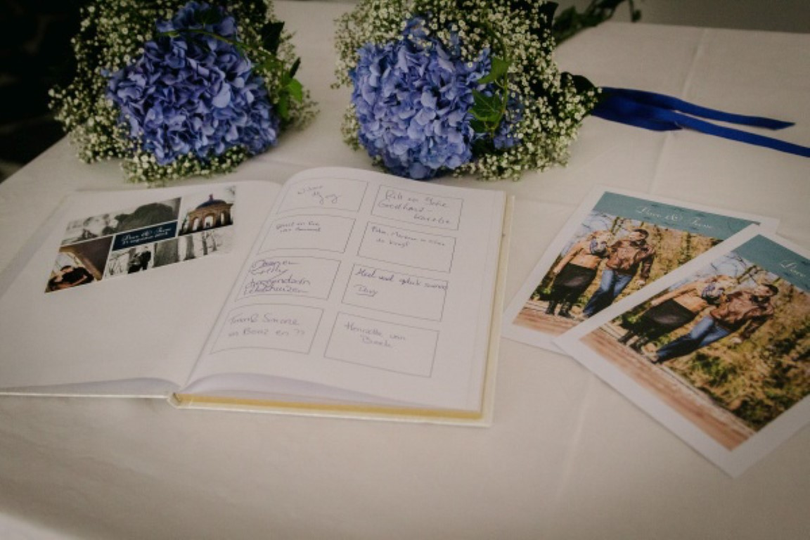 decoratie bruiloft hortensia Ijsselstein