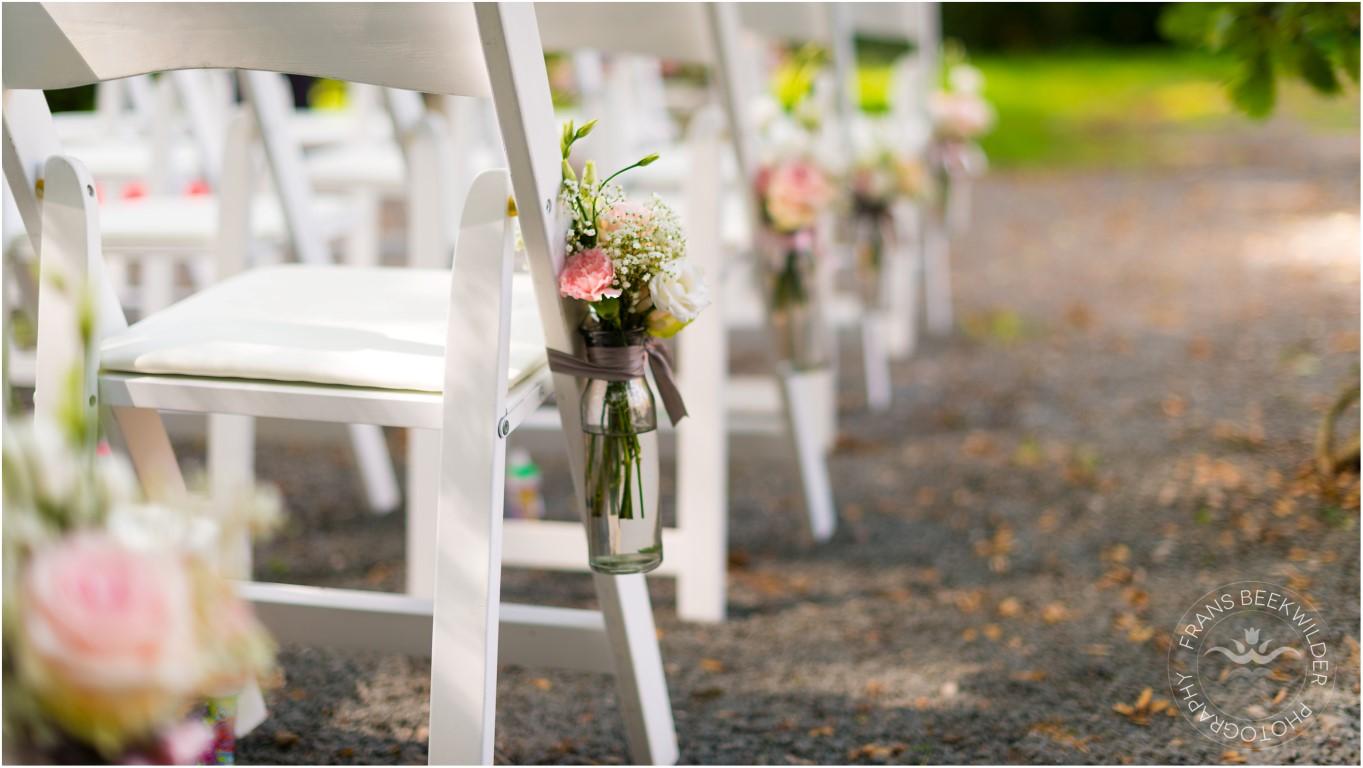 bloemen decoratie bruiloft rozen