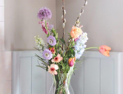 Voorjaarsbloemen in huis halen?