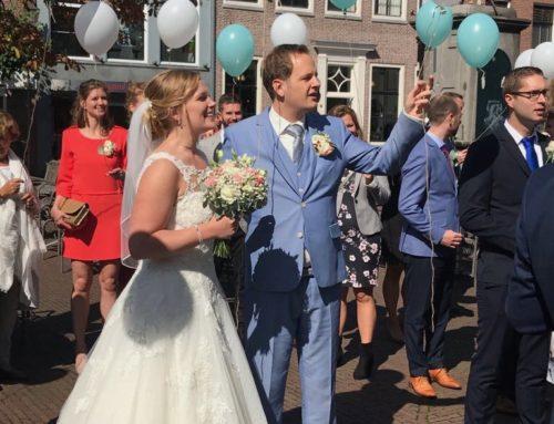 Een bruiloft met een speciaal tintje