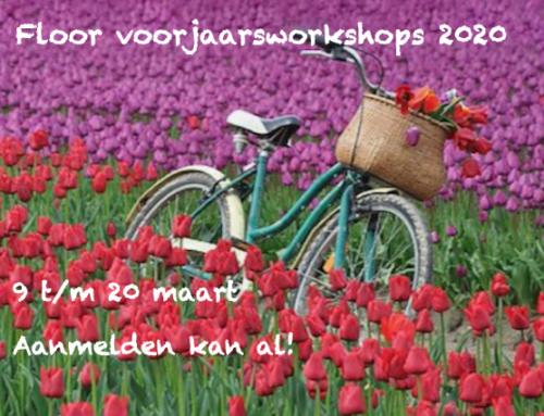 Inschrijven voorjaarsworkshops 2020